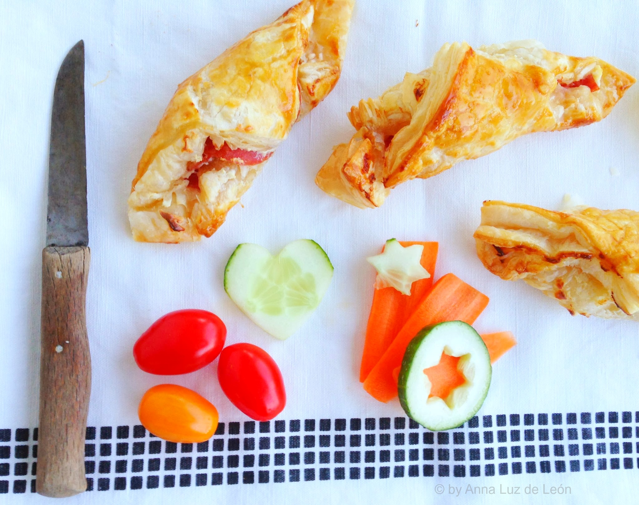 Blätterteighörnchen, Snackbox, Brotdose, selbstgebacken, Rezept