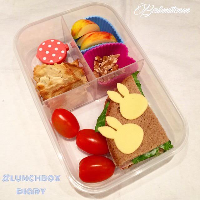 Käsehäschen, Miffy, Lunchbox, Sandwich