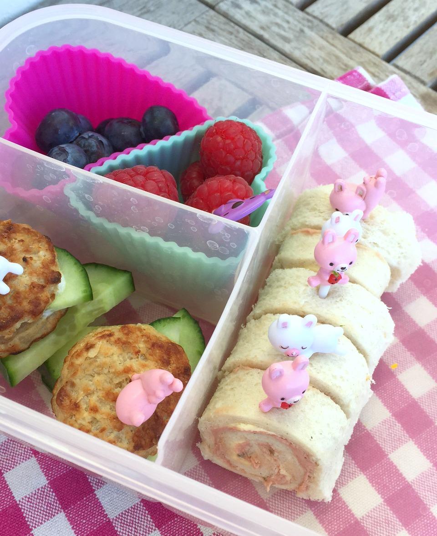 Sandwich, Sushi, Röllchen, Bentobox, Bentokids, Lunchboxdiary