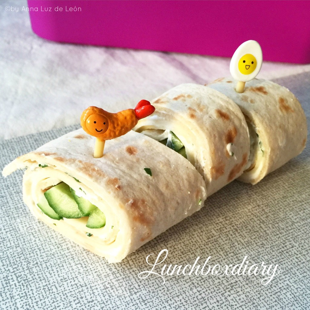 Wraps, Weizentortillas, Lunchbox, statt Brot