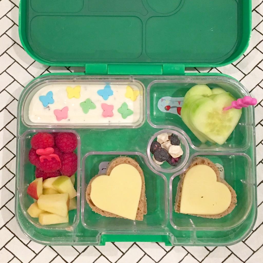 Valentinstag, Herzchenbox, Lunchbox, Bento, Herzchenbento