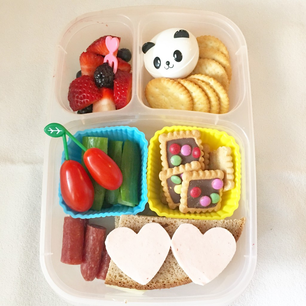 Easylunchboxes, unterteilte Box, Snackbox, Lunchboxdiary, Brotdose